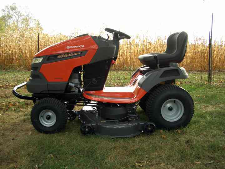 New Husqvarna YTH23V48 Delivered Today MyTractorForumcom The